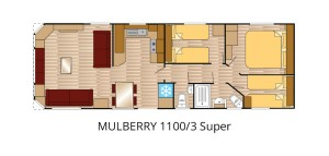 Mulberry 1100-3 Super