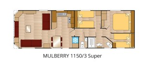 Mulberry 1150-3 Super